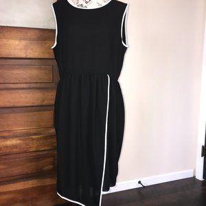 NWOT Gabriella Rocha Sheer Asymmetrical Dress